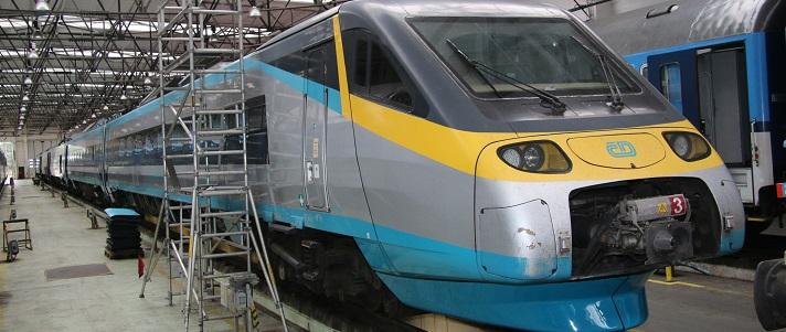 A felújításokat a rutin javítások alkalmával végzik majd el fokozatosan a vonatokon (fotó: České dráhy)